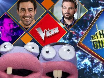 La próxima semana visitarán 'El Hormiguero 3.0' Pablo Chiapella, Pau Donés y Jordi Évole y desvelaremos quién presentará 'La Voz'
