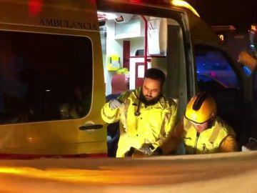 Muere un motorista en Madrid tras quedar atrapado bajo las ruedas de un autobús