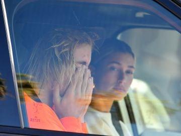 Las lágrimas de Justin Bieber junto a su mujer Hailey Baldwin