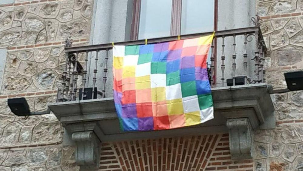 Bandera de la resistencia indígena