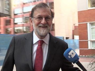 Mariano Rajoy que se ha incorporado a la plaza de registrador de la propiedad