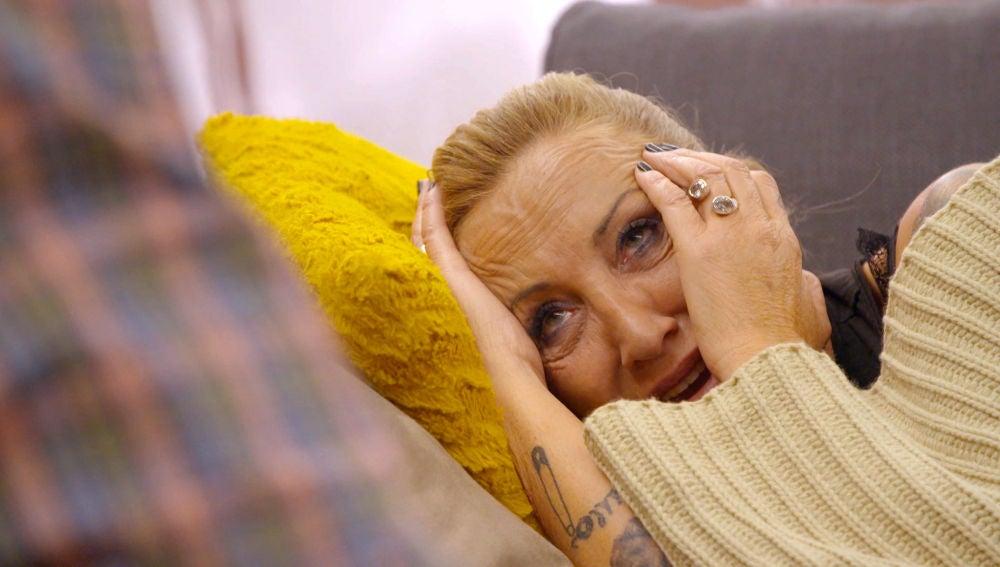 Nieves, destrozada con las imágenes de su marido con Eli