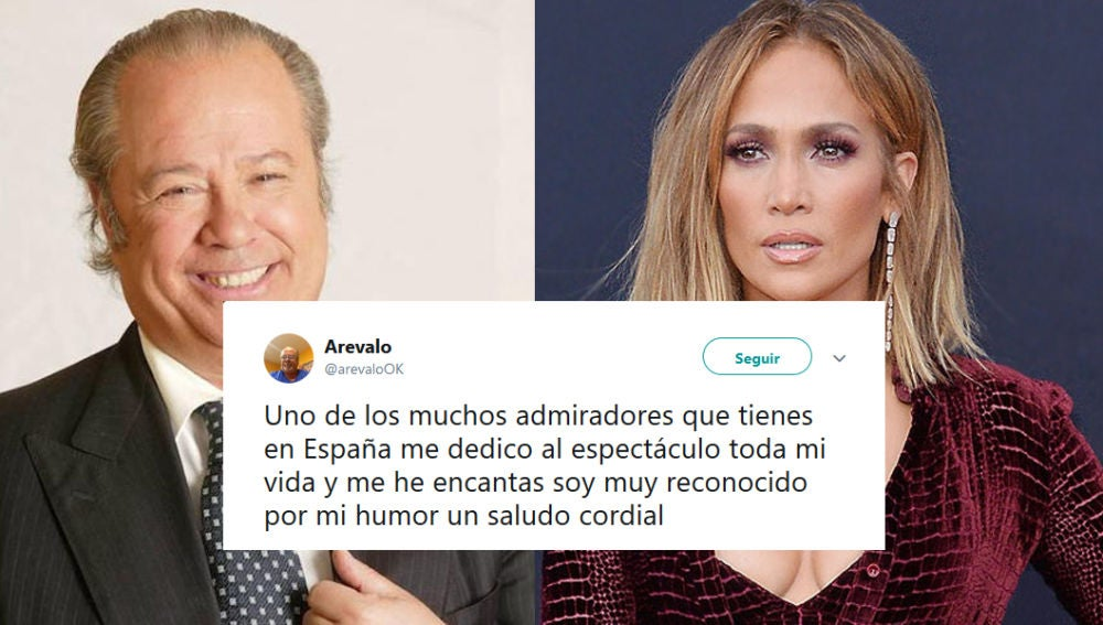 Arévalo y Jennifer López