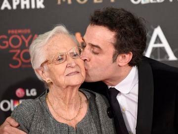 Antonia y Daniel Guzmán en la gala de los Goya