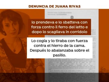 Juana Rivas denuncia de nuevo a su expareja por supuestos malos tratos a uno de sus hijos