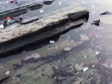 El vídeo-crítica de Oier Bartolomé publicado en Twitter sobre la basura en los flysch de Zumaia, se ha hecho viral