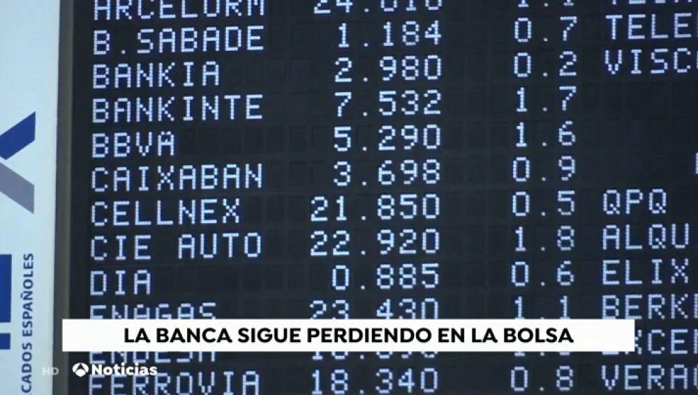 2102d5992 Los bancos vuelven a ser los valores más castigados en la Bolsa ...