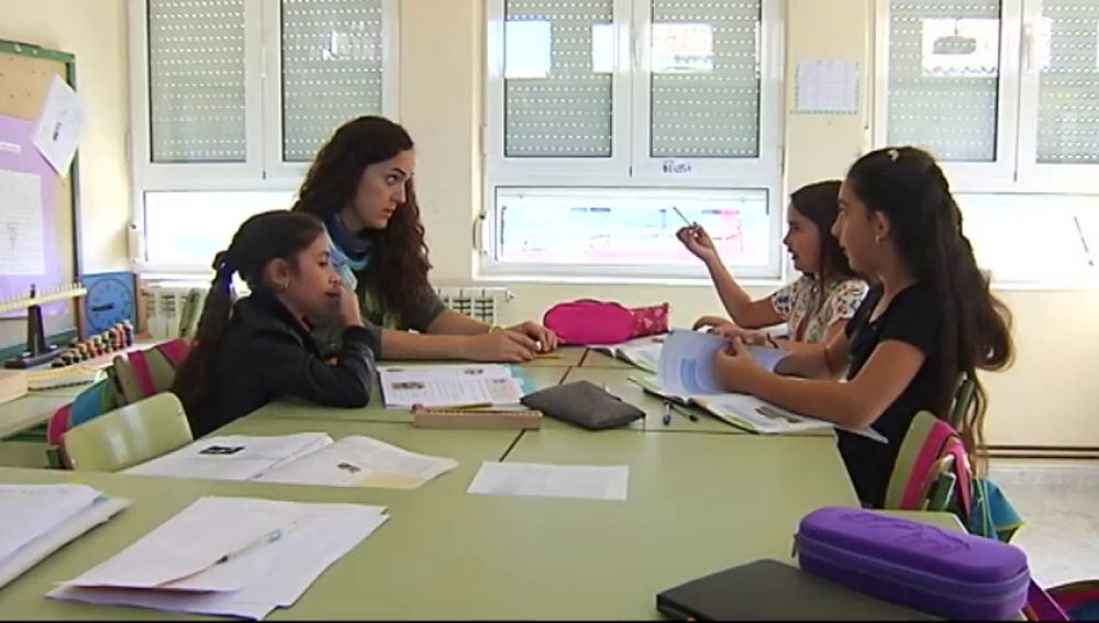 Así es el colegio más pequeño de Valladolid