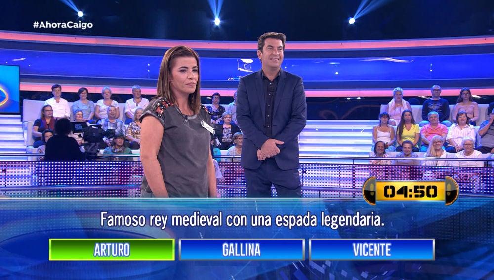 '¡Ahora Caigo!' dedica una de sus rondas a Arturo Valls, a la gallina y a Vicente
