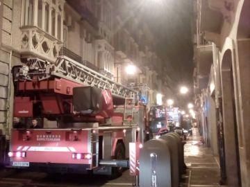 Incendio en Pamplona