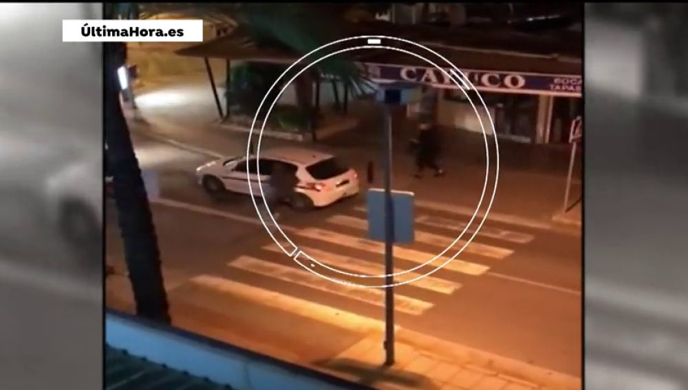Dos atracadores pierden parte del botín mientras huyen en Mallorca