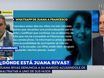 """Los mensajes de WhatsApp de Juana Rivas a su exmarido para no devolver a sus hijos: """"Los niños me han contado hechos graves"""""""