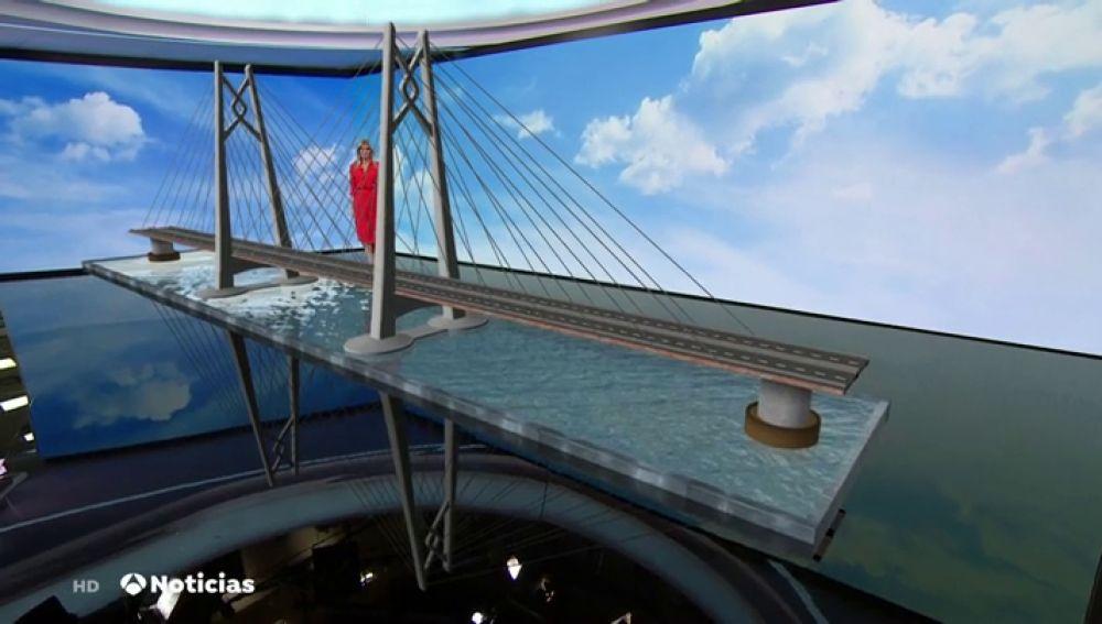 Así es el puente marítimo más largo del mundo inaugurado en China