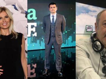 Sandra Golpe, Iñaki López y Julián Cabrera triunfan en los Antena de Oro