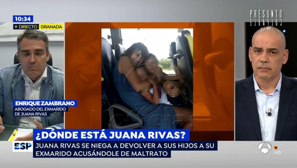 El exmarido de Juana Rivas niega haber maltratado a su hijo y asegura que el golpe se produjo en un accidente doméstico