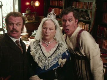 John C. Reilly y Will Ferrell en 'Holmes and Watson'