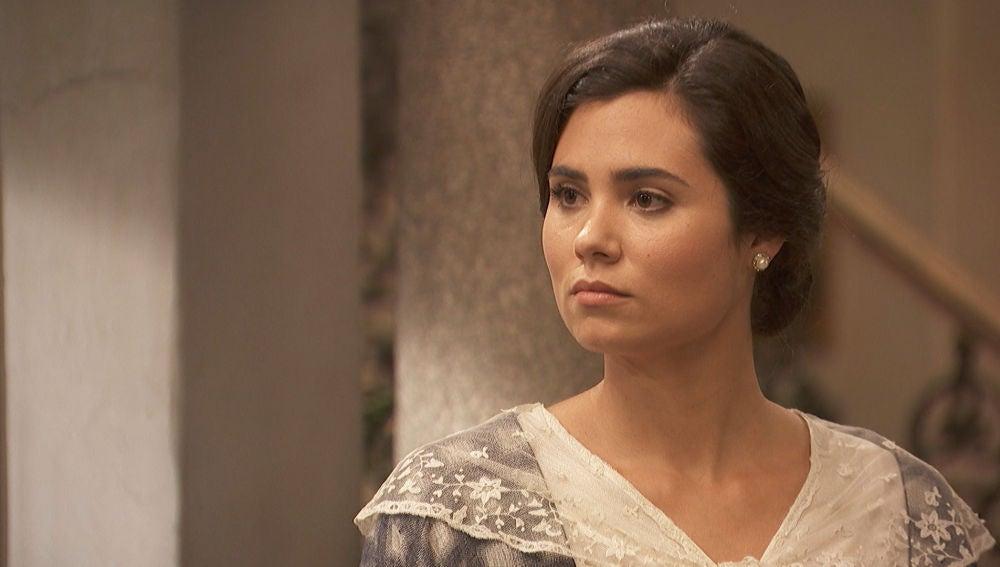María no está segura de querer retomar su relación con Gonzalo