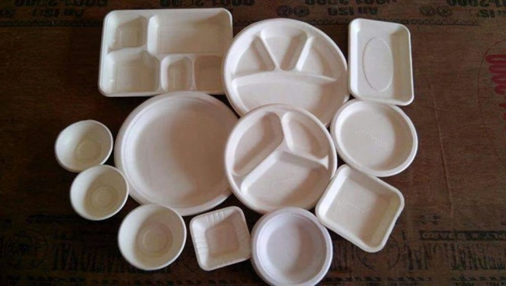 ¿Están los platos boca arriba o boca abajo?