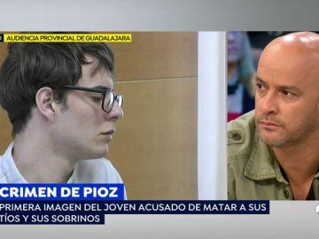 Sorprendente cambio de imagen de Patrick, el joven acusado de matar a sus tíos y sobrinos en Pioz