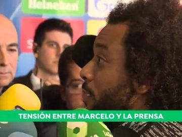 """Marcelo: """"Los periodistas intentáis hacer daño al vestuario, igual es porque no sabéis jugar al fútbol o por envidia"""""""