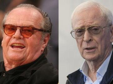 Jack Nicholson y Michael Caine