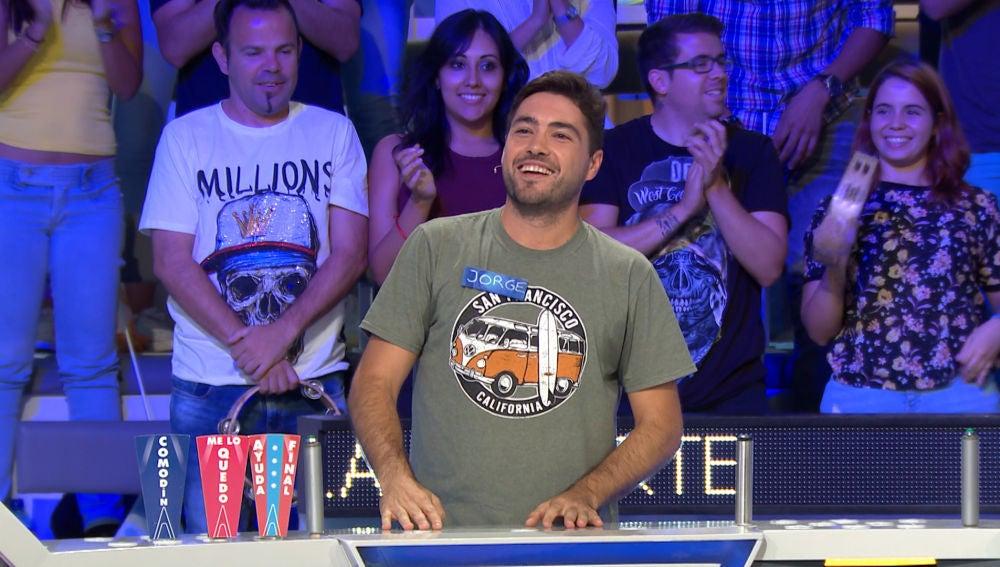 La excelente jugada de Jorge para hacerse con el bote de 'La ruleta de la suerte'