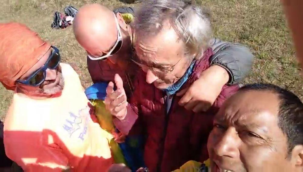 Rescatan en buen estado al parapentista español desaparecido durante cinco días en la India
