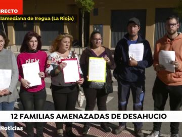Familias amenazadas de desahucio