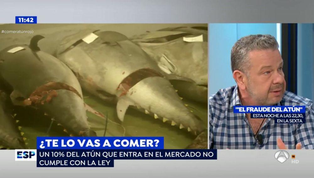 """Chicote nos desvelará en '¿Te lo vas a comer?' los peligros del fraude del atún: """"El problema es que una misma empresa vende el atún de forma legal e ilegal"""""""