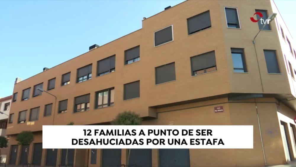 Doce familias amenazadas de ser desahuciadas por una posible estafa
