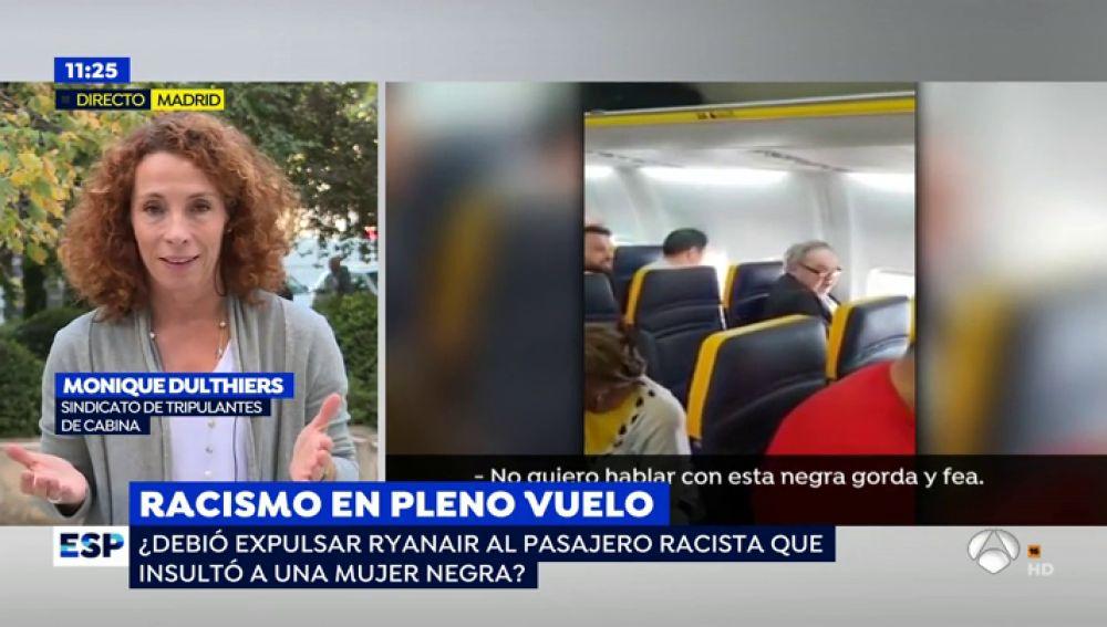 """La Representante del Sindicato de Tripulantes de Cabina explica la actuación de Ryanair: """"La compañía trabaja con mucha presión para cumplir sus horarios y no querían retrasar el vuelo"""""""