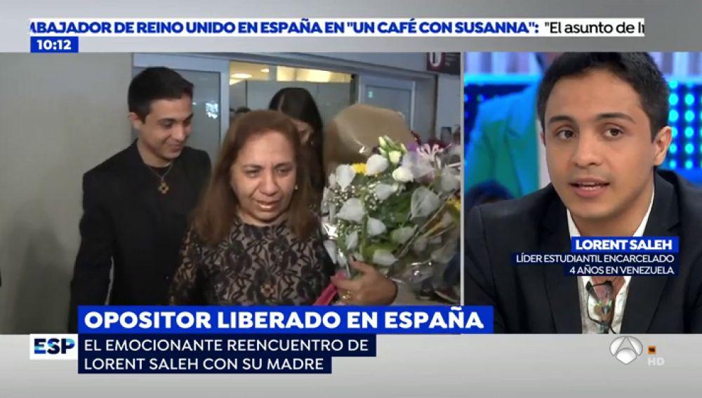 """Lorent Saleh: """"Hay una generación de jóvenes perseguida en Venezuela que esta clamando auxilio a Europa"""""""
