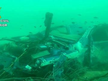 La Guardia Civil rastrea el fondo marino para localizar objetos arrastrados por la riada en Baleares