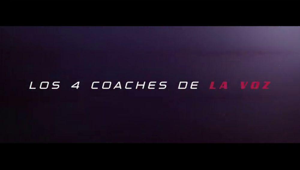 En exclusiva: Los 4 coaches de 'La Voz' como nunca los habías visto, el lunes en Antena 3