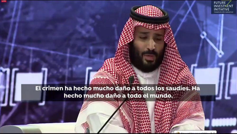 El príncipe habla sobre el crimen