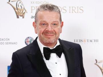 Alberto Chicote en los Premios Iris