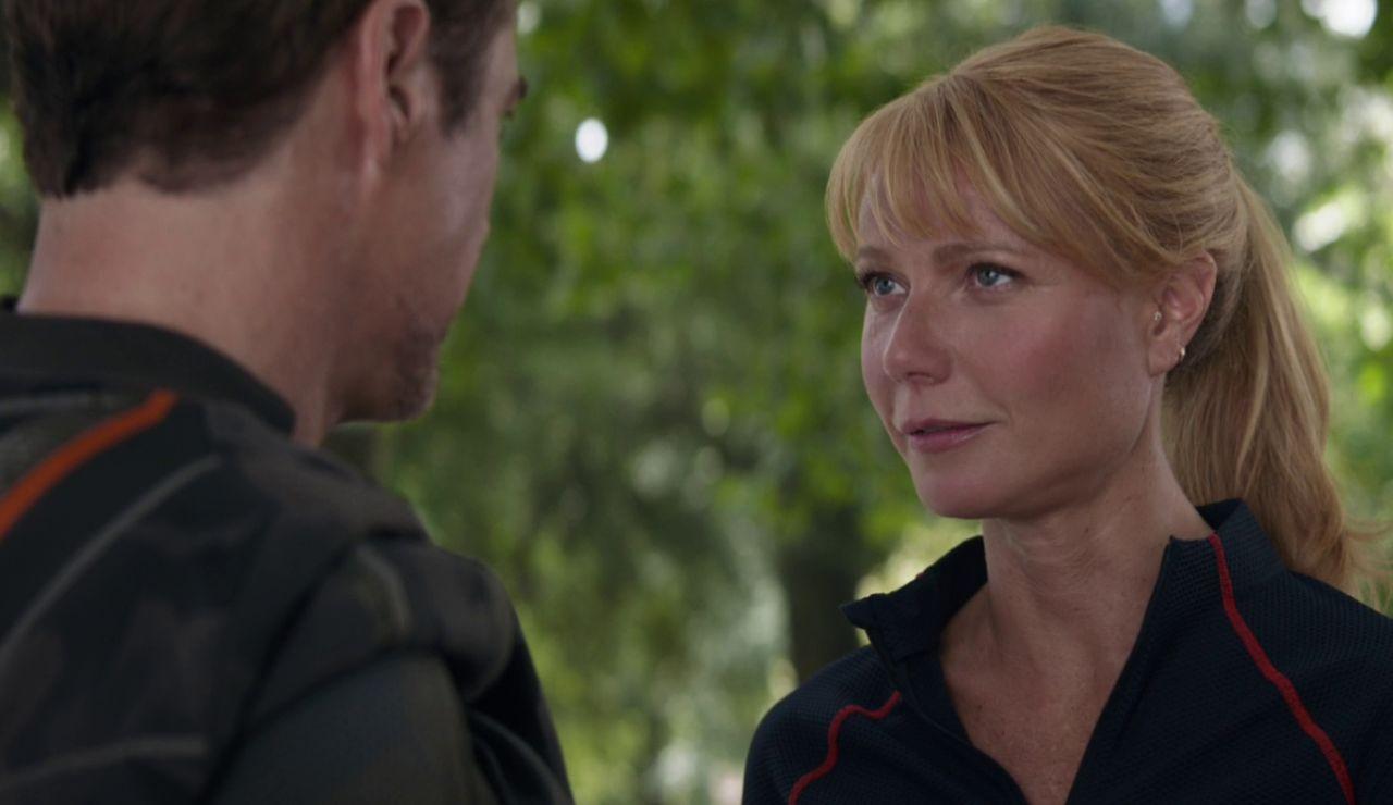 Tony Stark y Pepper Potts en 'Vengadores: Infinity War'