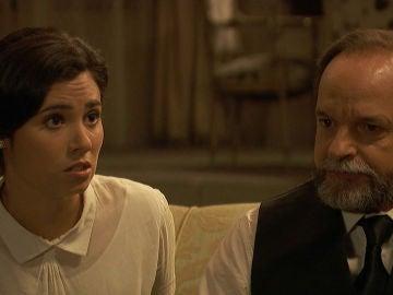 La insistencia de Matías por encontrar a sus padres pone en peligro el secreto de Raimundo y María
