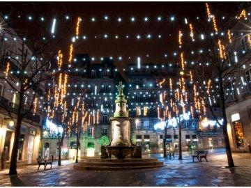 Luces de Navidad en Vigo en años previos a 2018