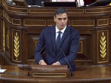 Pedro Sánchez deja caer que el delito de rebelión no es aplicable a los líderes independentistas del procés