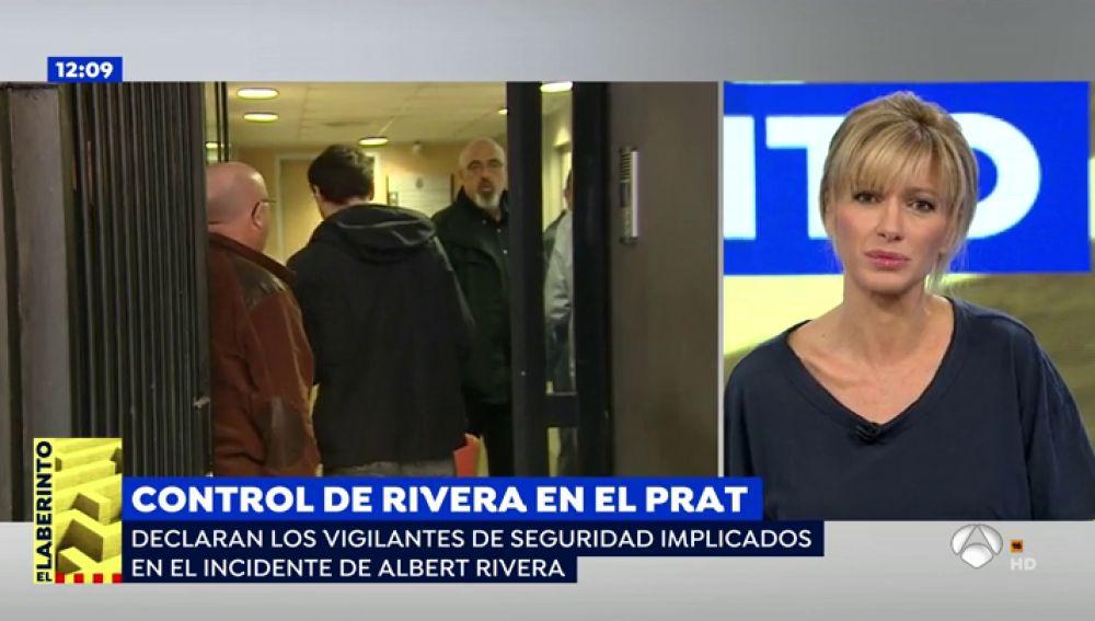 Un vigilante de seguridad explica el incidente de Albert Rivera al negarse a hacer un test de trazas de explosivos