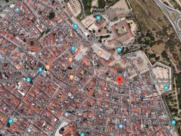 Imagen de la calle Concepción Arenal en Badajoz
