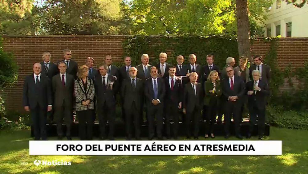 Atresmedia reúne al 'Foro del Puente Aéreo'
