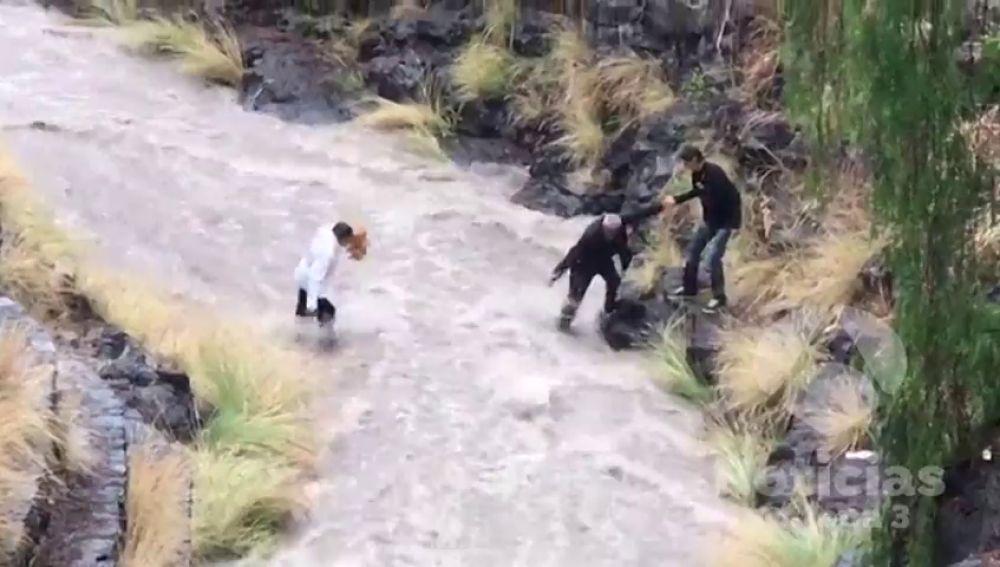 La borrasca se apodera de las Canarias con fuertes tormentas y granizo