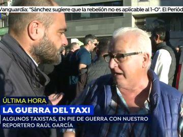 "Un grupo de taxistas increpa a un reportero de 'Espejo Público' por emitir un reportaje: ""Solo buscáis 'carnaza', lo manipuláis todo"""
