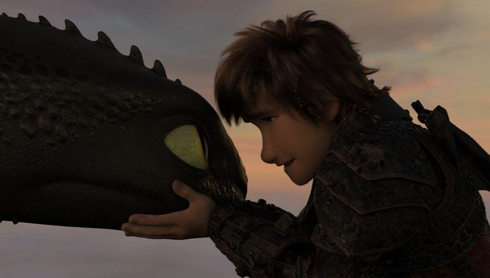 Desdentao e Hipo en 'Cómo entrenar a tu dragón 3'