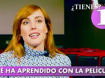 Natalia de Molina nos confiesa en menos de un minuto quién le canta las cuarenta