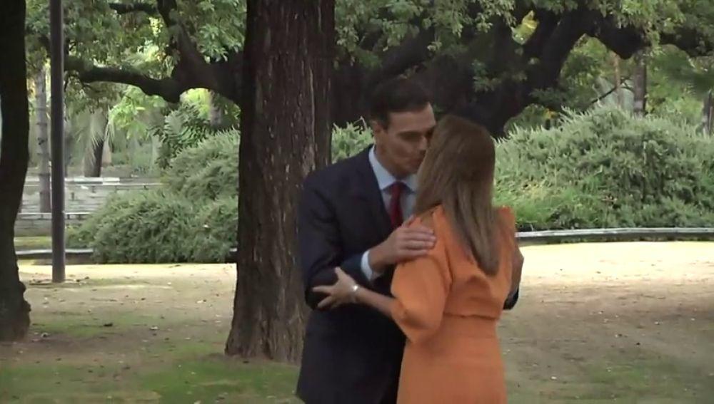 Sánchez se reúne con Susana Díaz tras el Consejo de Ministros