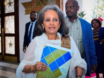 Sahlework Zewde, presidenta de Etiopía