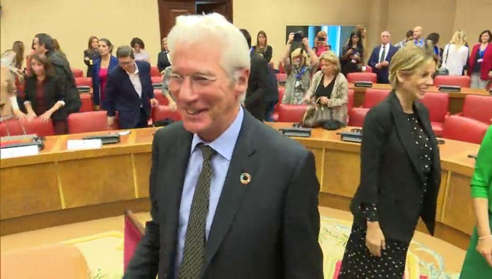 Richard Gere acude al Congreso de los Diputados